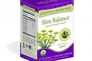 MOTIVATING FENNEL SUPPORTS WEIGHT HEALTH HERBAL TEA SUPPLEMENT