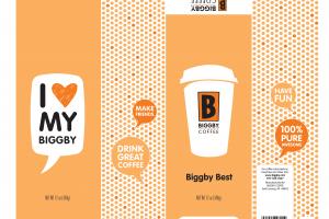 BIGGBY BEST COFFEE