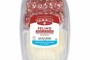 FELINO UNCURED ITALIAN SALAMI WITH MANCHEGO CHEESE ARTISAN CHARCUTERIE
