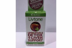 UNBEATABLE DETOX + LIVER SUPPORT DIETARY SUPPLEMENT CAPSULES