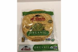 ORGANIC CORN TORTILLAS