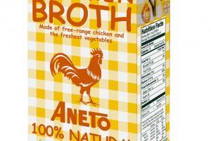 100% NATURAL CHICKEN BROTH