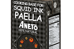 100% NATURAL COOKING BASE FOR SQUID INK PAELLA ANETO