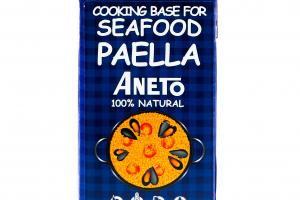 100% NATURAL COOKING BASE FOR SEAFOOD PAELLA
