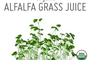 ORGANIC ALFALFA GRASS JUICE WHOLE FOOD POWDER