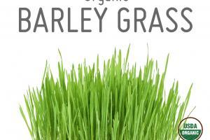 ORGANIC BARLEY GRASS WHOLE FOOD POWDER