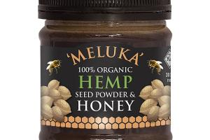 100% ORGANIC HEMP SEED HONEY