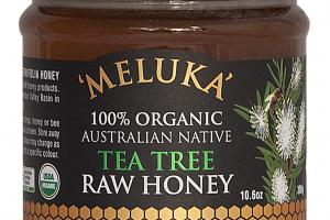 100% ORGANIC AUSTRALIAN NATIVE TEA TREE RAW HONEY