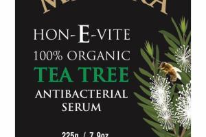 HON-E-VITE 100% ORGANIC TEA TREE ANTIBACTERIAL SERUM