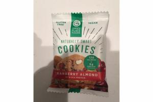 CRANBERRY ALMOND WITH PEA PROTEIN COOKIES