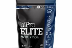 WHEY PROTEIN ISOLATE DIETARY SUPPLEMENT, FRENCH VANILLA