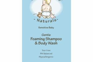 GENTLE FOAMING SHAMPOO & BODY WASH