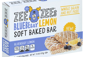 BLUEBERRY LEMON SOFT BAKED BAR