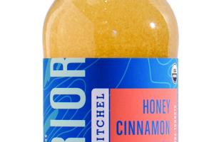 A HONEY CINNAMON KICK SPARKLING APPLE CIDER VINEGAR & GINGER ELIXIR