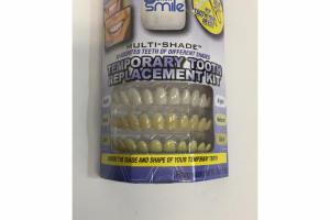 MULTI-SHADE TEMPORARY TOOTH REPLACEMENT KIT