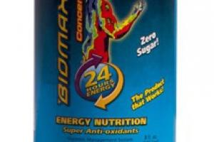 ENERGY NUTRITION DIETARY SUPPLEMENT CONCENTRATE