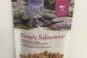 SIMPLY FREEZE DRIED SALMON CAT TREATS