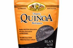 ORGANIC BLACK QUINOA