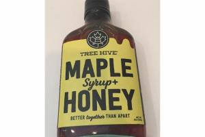 MAPLE SYRUP+ HONEY
