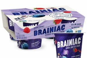 MIXED BERRY SUPPORTS BRAIN DEVELOPMENT WHOLE MILK YOGURT WITH BRAINPACK