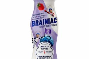 MIXED BERRY WHOLE MILK YOGURT SUPPORTS BRAIN DEVELOPMENT