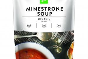 MINESTRONE ORGANIC VEGETABLE SOUP