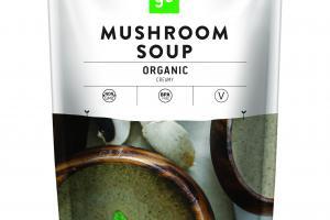 ORGANIC CREAMY MUSHROOM SOUP