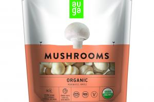 ORGANIC MARINATED, WHOLE MUSHROOMS