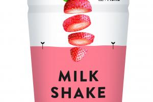 ORGANIC STRAWBERRY FLAVOUR MILK SHAKE