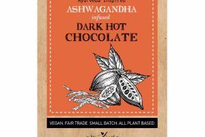 ASHWAGANDHA INFUSED DARK HOT CHOCOLATE