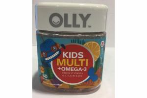 BERRY TANGY KIDS MULTI + OMEGA-3 DIETARY SUPPLEMENT GUMMIES