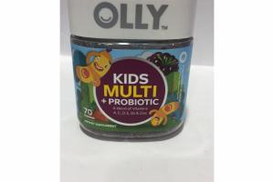 YUM BERRY PUNCH KIDS MULTI + PROBIOTIC DIETARY SUPPLEMENT GUMMIES