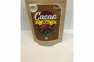 ORGANIC CACAO NIBS NATURE'S DARK CHOCOLATE CHIPS