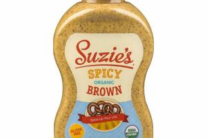 ORGANIC SPICY BROWN MUSTARD