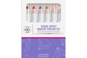 NIGHT, RUBY, SAPPHIRE, LEAF, DAFFODIL, DOVE, VISUAL ARTIST MAKEUP CRAYON SET