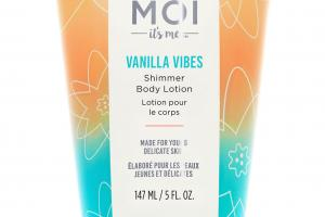 SHIMMER BODY LOTION, VANILLA VIBES