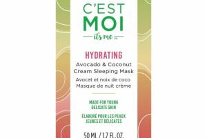 HYDRATING CREAM SLEEPING MASK, AVOCADO & COCONUT