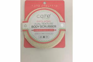 EXFOLIATING DUAL TEXTURE BODY SCRUBBER