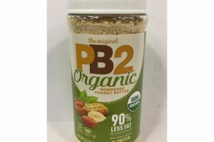 ORGANIC PEANUT BUTTER POWDERED