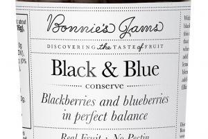 BLACKBERRIES AND BLUEBERRIES BLACK & BLUE CONSERVE