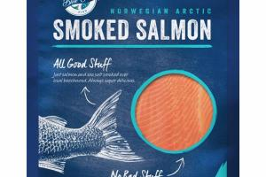 NORWEGIAN ARCTIC SMOKED SALMON
