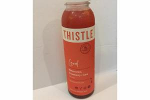 WATERMELON, STRAWBERRY + CHIA WITH LIME 100% COLD-PRESSED JUICE