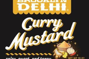 SPICY, SWEET, AND TANGY CURRY MUSTARD