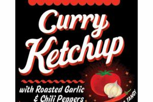 SPICY, SWEET & TANGY CURRY KETCHUP WITH ROASTED GARLIC & CHILI PEPPERS