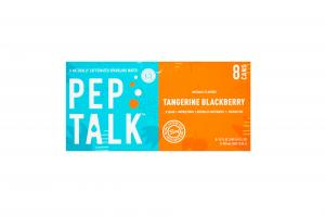 TANGERINE BLACKBERRY A NATURALLY CAFFEINATED SPARKLING WATER