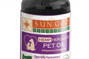 HEMP HERCULES PET OIL