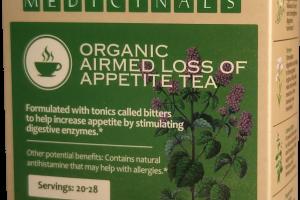 ORGANIC AIRMED LOSS OF APPETITE TEA HERBAL SUPPLEMENT