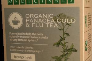 ORGANIC PANACEA COLD & FLU TEA HERBAL SUPPLEMENT