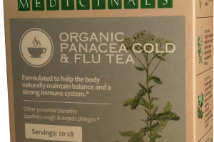 ORGANIC PANACEA COLD & FLU TEA HERBAL SUPPLEMENT