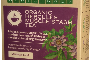 ORGANIC HERCULES MUSCLE SPASM TEA HERBAL SUPPLEMENT